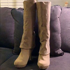 "Baby Phat ""Golda"" Fashion Heeled Boots"